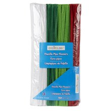 Creatology Chenille Stems, Holiday Colors