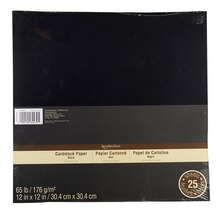 Recollections Cardstock Paper, Black