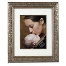 "Studio Déeor® Portrait Collection, Silver 16"" x 20"" Frame 11"" x 14"" Mat"