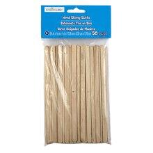 Creatology Wood Skinny Sticks