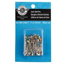 Loops & Threads Ball Point Pins, 200 Count