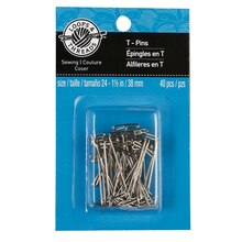 Loops & Threads T-Pins, 1 1/2""