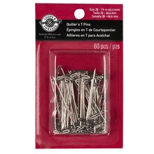 """Loops & Threads Quilter's T-Pins, 1 3/4"""""""