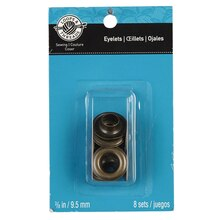 Loops & Threads Eyelets, 3/8""
