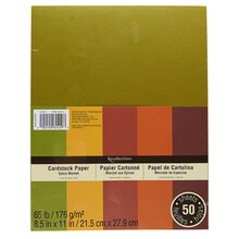 "Recollections Spice Market Cardstock Paper, 8.5"" x 11"""