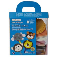 Creatology Foam Activity Kit, Animal Puppets