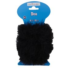 Creatology Marabou Craft Boa, Black