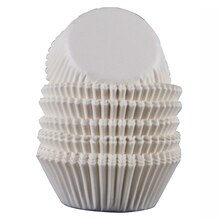 Celebrate It Mini Baking Cups, White