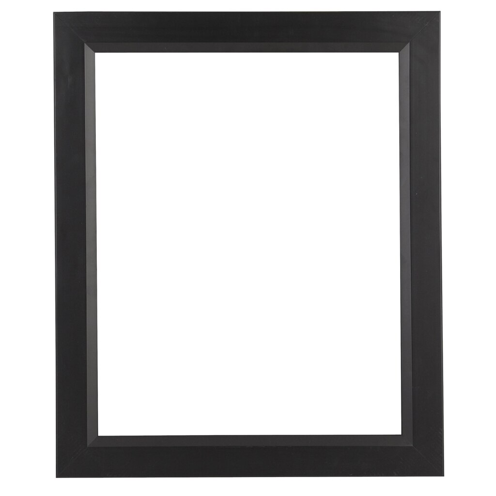 black contemporary open back frame 16 x 20 by studio d cor. Black Bedroom Furniture Sets. Home Design Ideas