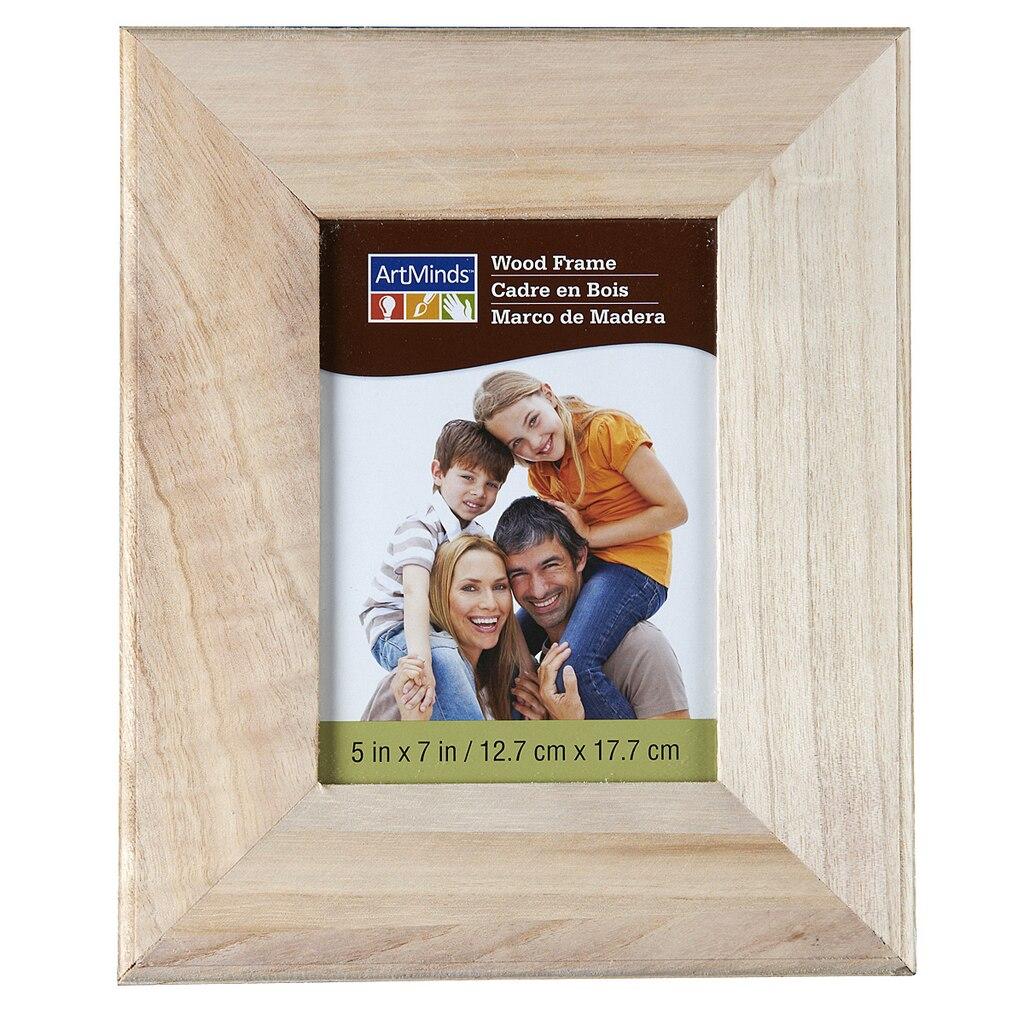 artminds wood frame 5 x 7. Black Bedroom Furniture Sets. Home Design Ideas