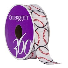Celebrate It 360 Grosgrain Ribbon, Baseball