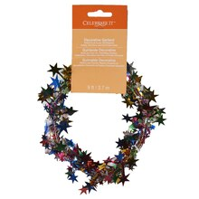 Celebrate It Decorative Garland, Star