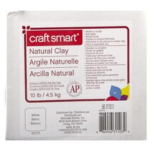 Craft Smart Natural Clay, White