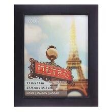 "Studio Décor Home Collection Classic Frame, Black 11"" x 14"""