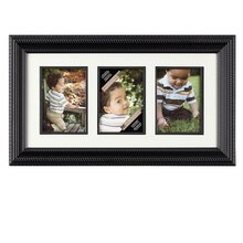 Studio Décor Portrait Collection 3-Opening Rope Frame with Mat