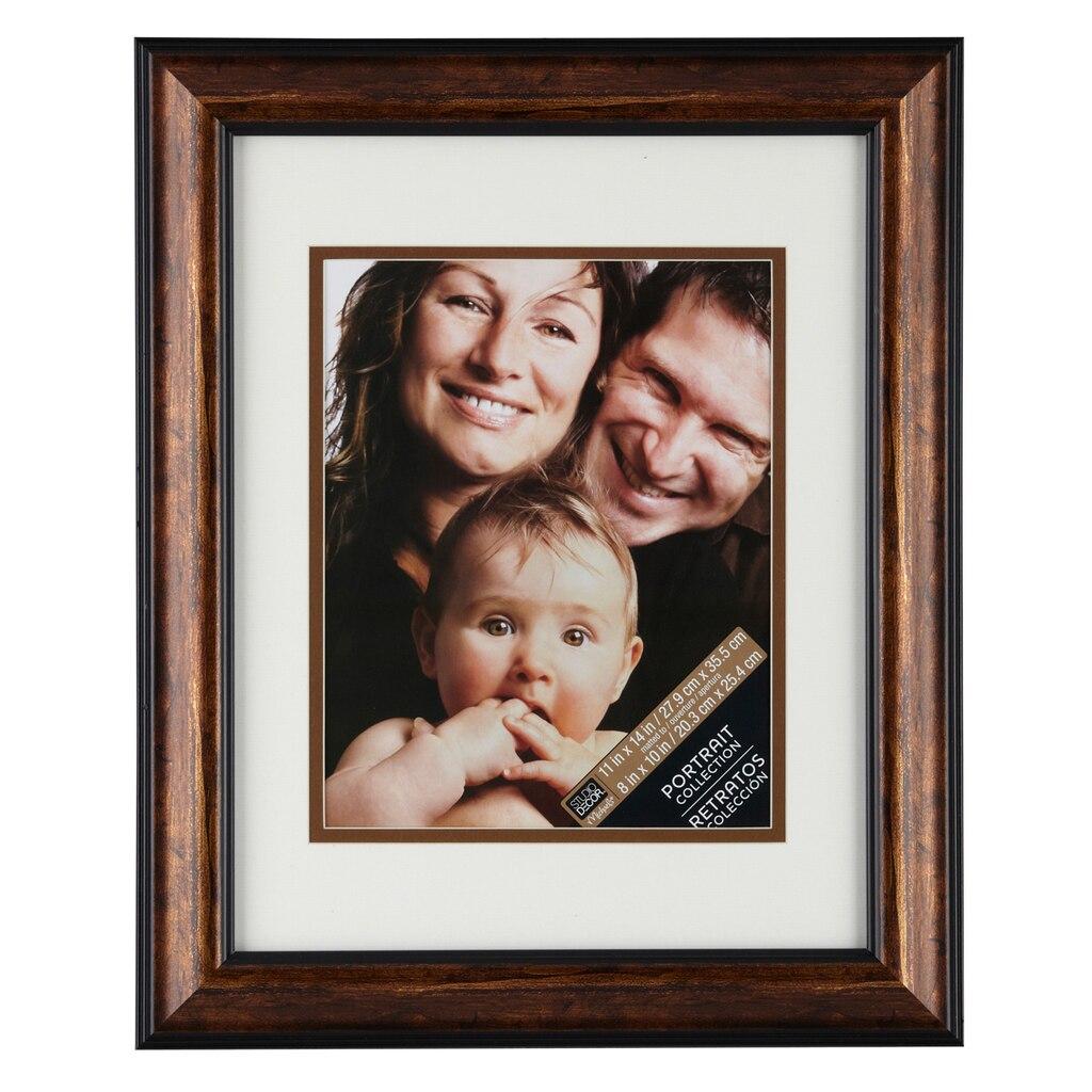 Bronze Portrait Frame With Mat By Studio D 233 Cor 174