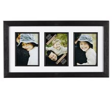 Studio Décor Portrait Collection 3-Opening Collage Frame with Mat