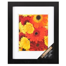 Wall Picture Frame walnut gallery wall frame with double matstudio décor®