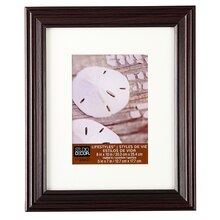 "Studio Décor Lifestyles Black/Cherry Frame With Mat, 5""x7"""