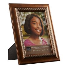 "Studio Décor Simply Essentials Bronze Frame With Inner Rope, 5"" x7"""