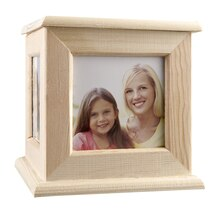 Artminds Wooden Four Sided Photo Caddy