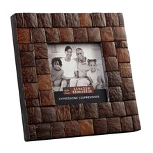 """Studio Décor Expressions Coconut Shell Frame, 3.5"""" x 3.5"""""""