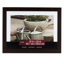 "Studio Décor Home Collection Classic Frame, Espresso Brown 18"" x 24"""