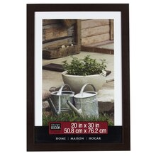 "Studio Décor Home Collection Classic Frame, Espresso Brown 20"" x 30"""