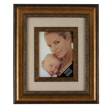 Studio Décor Portrait Collection Ornate Bronze Frame With Mat