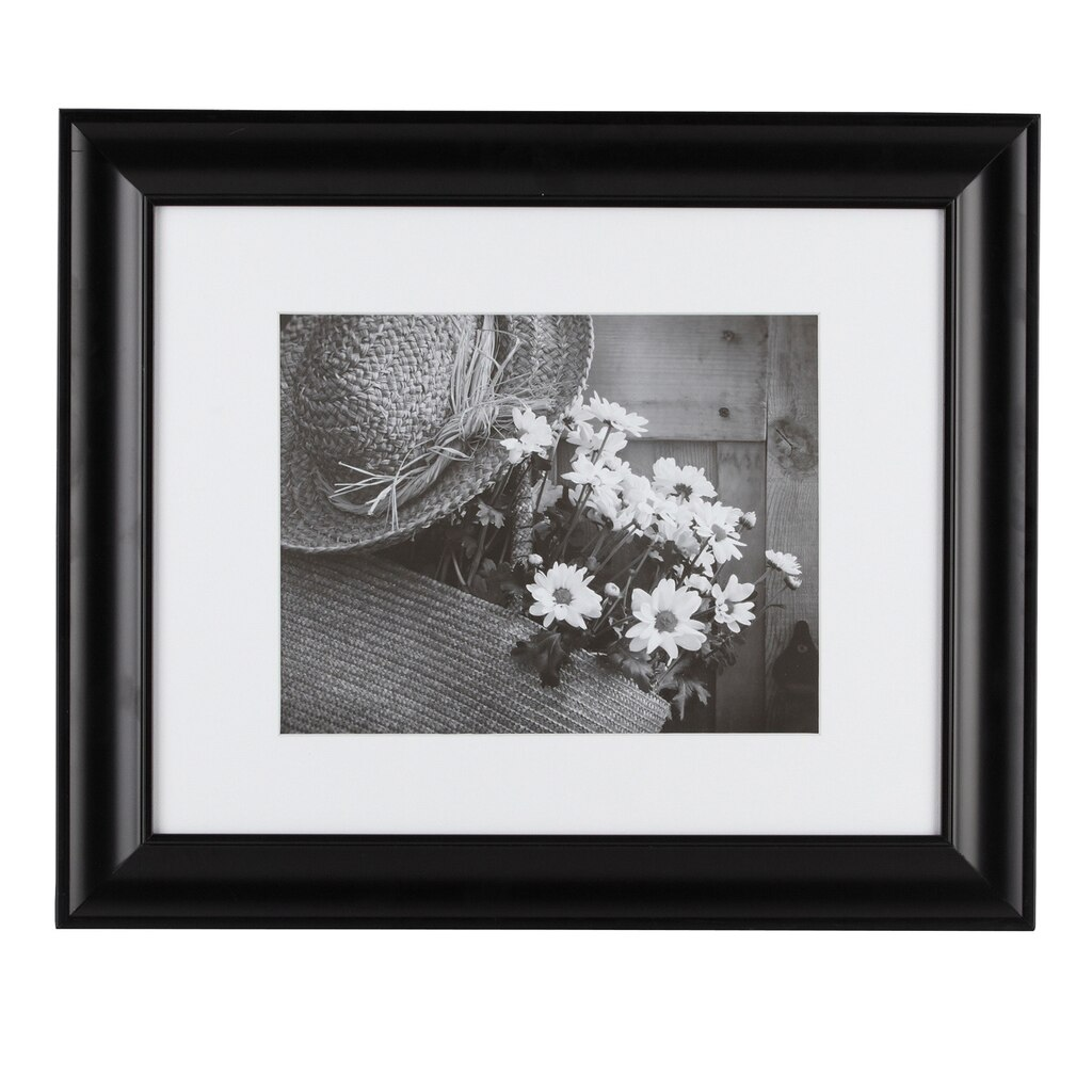 Matted Picture Frame Black Matted Gallery Frame By Studio
