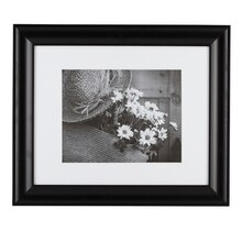 "Studio Décor Hang Your Own Gallery Black Frame with Mat, 11"" x 14"""