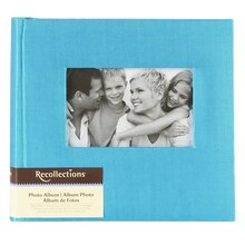 Recollections Photo Album, Teal Faille, 2 Pocket