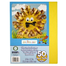 "Creatology Construction Paper 9"" x 12"" Yellow"