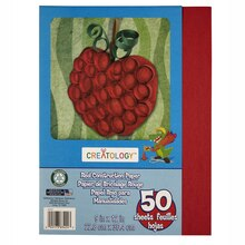 "Creatology Construction Paper 9"" x 12"" Red"