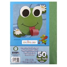 "Creatology Construction Paper 9"" x 12"" Green"