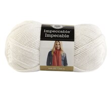 Loops & Threads Impeccable Yarn, White