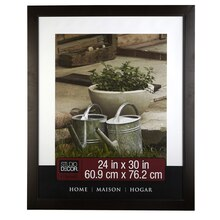 "Studio Décor Home Collection Classic Frame, Espresso Brown 24"" x 30"""