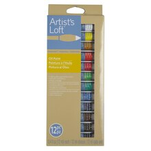 Artist's Loft Fundamentals Oil Paint Set, 12 Count