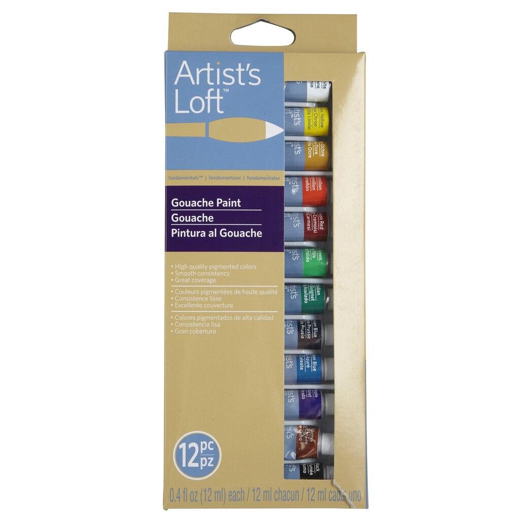 Artist S Loft Fundamentals Gouache Paint 12 Count