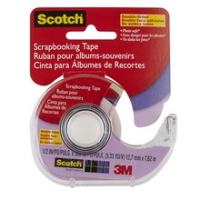 Scotch Acid-Free Photo and Document Tape, 1/2""
