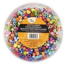 Bead Landing Crafting Beads, Plastic Bead Mix