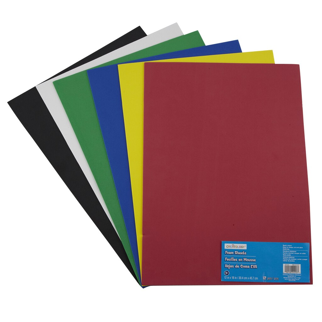 creatology value pack foam sheets - Picture Sheets