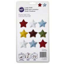 Wilton Candy Mold, Stars