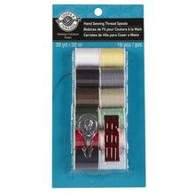 Loops & Threads Hand Sewing Thread Spools, Light Colors