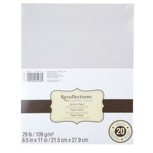 Recollections Vellum Paper Pack