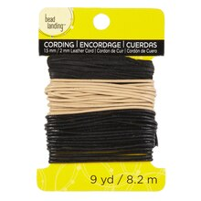 Bead Landing Leather Cord, 2 mm