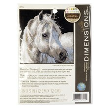 Dimensions Needlepoint Kit, Gentle Strength