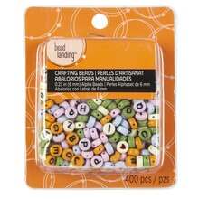Bead Landing Crafting Beads, Alpha, Multi