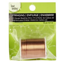 Bead Landing Beading Wire, 20 gauge, Copper