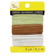 Bead Landing Leather Suede Cord, 9 yd